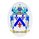 Sharkey Oval Ornament