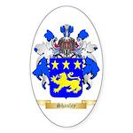 Shanley Sticker (Oval 50 pk)