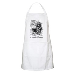 Old Scrooge BBQ Apron