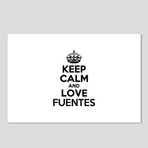 Keep Calm and Love FUENTE Postcards (Package of 8)