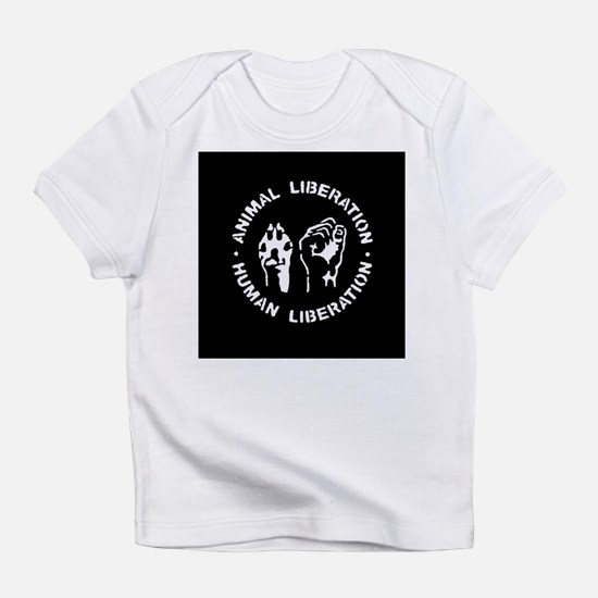 Animal Liberation Human Liberation Infant T-Shirt