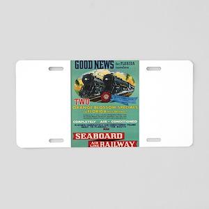 Vintage poster - Florida Aluminum License Plate