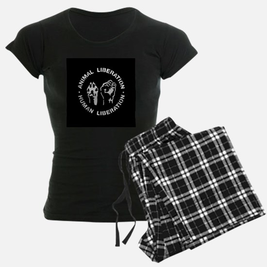Animal Liberation Human Libe Pajamas
