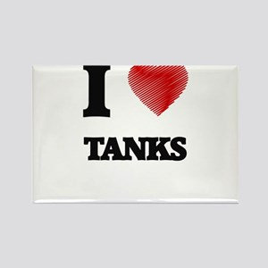 I love Tanks Magnets