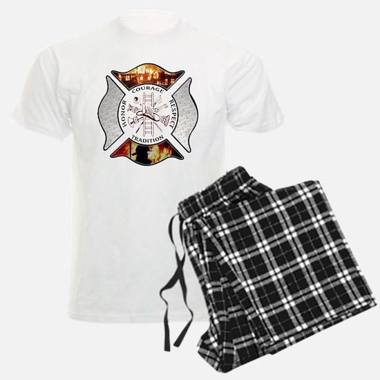 Firefighter Maltese Cross Pajamas