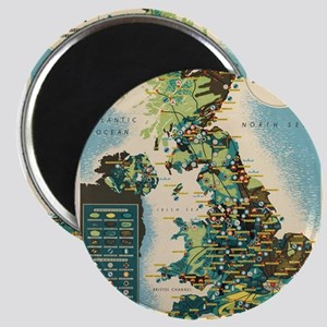 Vintage poster - Great Britain Magnets