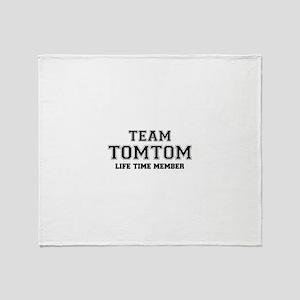 Team TOMTOM, life time member Throw Blanket