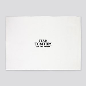 Team TOMTOM, life time member 5'x7'Area Rug