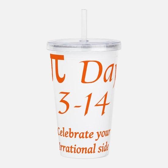 Pi Day Acrylic Double-wall Tumbler