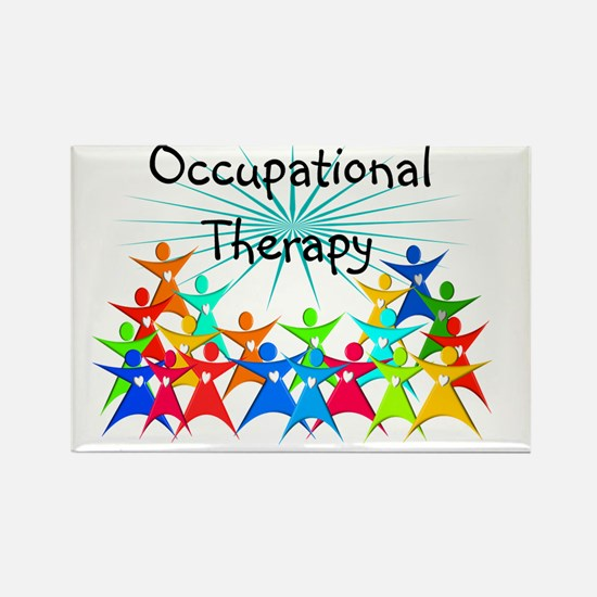 Cute Therapist Rectangle Magnet