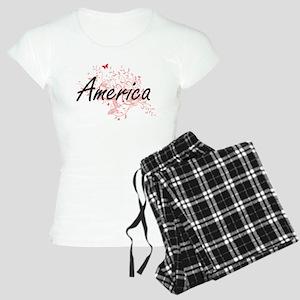 America Artistic Design wit Women's Light Pajamas