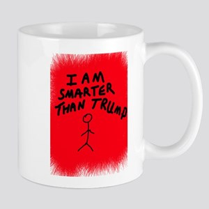 I AM SMARTER THAN TRUMP Mugs