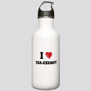 I love Tax-Exempt Stainless Water Bottle 1.0L