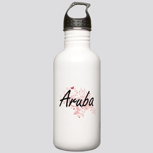 Aruba Artistic Design Stainless Water Bottle 1.0L