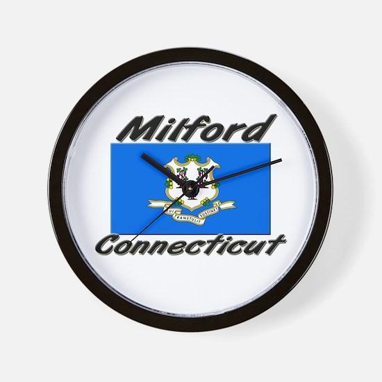 Milford Connecticut Wall Clock