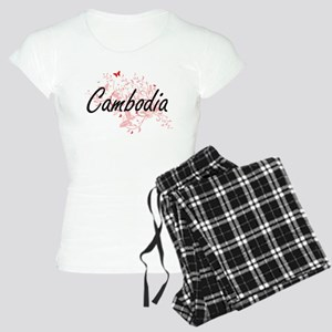 Cambodia Artistic Design wi Women's Light Pajamas