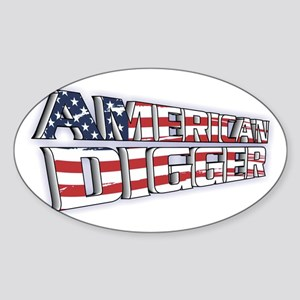 American Digger Sticker