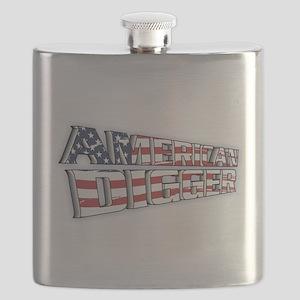 American Digger Flask