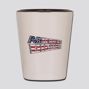American Digger Shot Glass