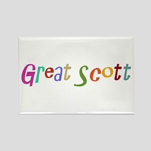 Great Scott Rectangle Magnet