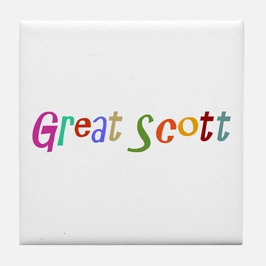 Great Scott Tile Coaster