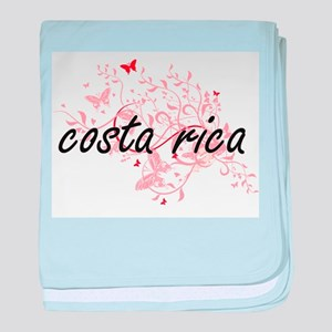 costa rica Artistic Design with Butte baby blanket