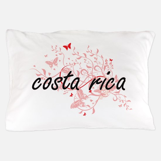 costa rica Artistic Design with Butter Pillow Case