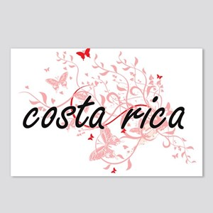 costa rica Artistic Desig Postcards (Package of 8)
