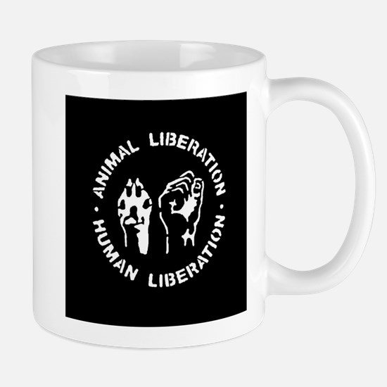 Animal Liberation Human Liberation Mugs