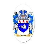 Shand Oval Car Magnet