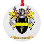 Shallowe Round Ornament