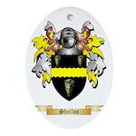 Shalloo Oval Ornament