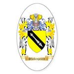 Shakespeare Sticker (Oval 50 pk)