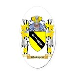 Shakespear Oval Car Magnet