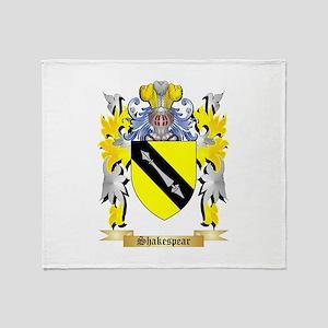 Shakespear Throw Blanket