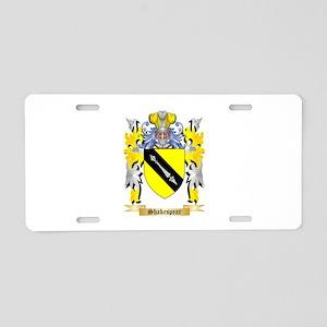 Shakespear Aluminum License Plate