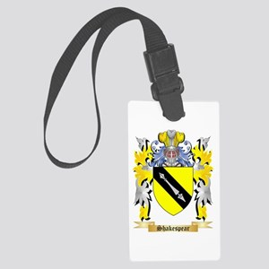 Shakespear Large Luggage Tag