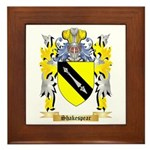 Shakespear Framed Tile