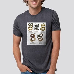 Antique Snakes Prin T-Shirt