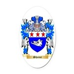 Shaine Oval Car Magnet