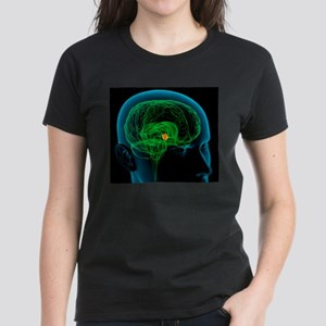 Hypothalamus in the brain, artwork T-Shirt
