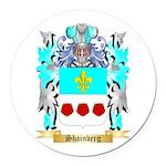 Shainberg Round Car Magnet