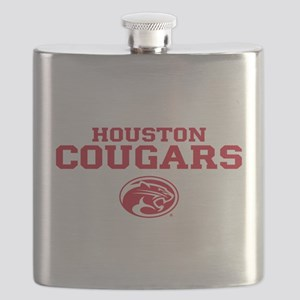 Houston Cougars Mom Flask