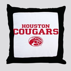 Houston Cougars Mom Throw Pillow