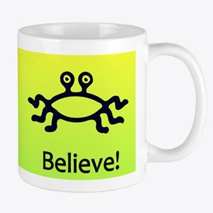 Flying Spaghetti Monster Mugs