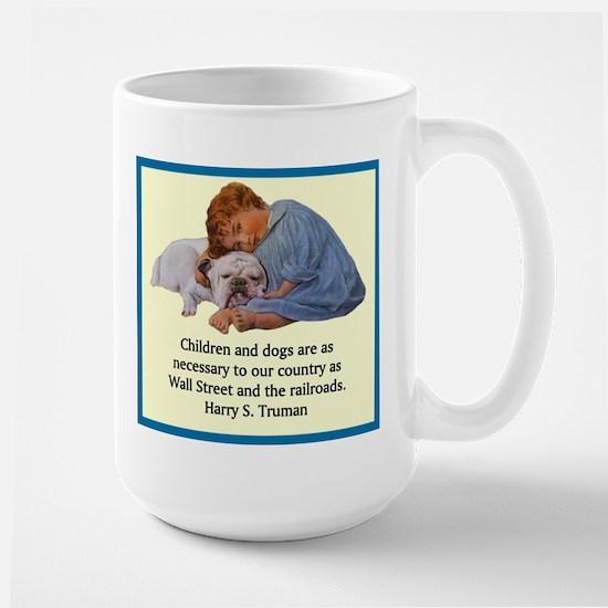 Truman Quote Large Mug