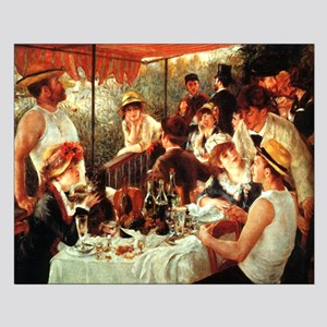 Renoir Boating Party Small Poster