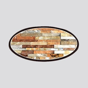 orange stone brick mosaic Patch