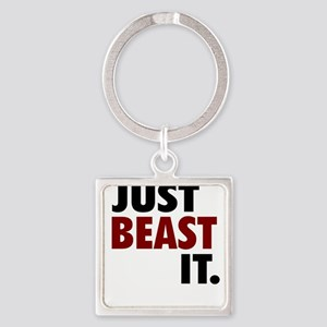 Just Beast It by My Motivo Keychains