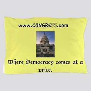 Congress Design Pillow Case